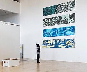 exhibit, northern, and ghana image