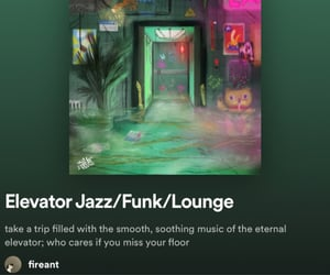jazz, spotify, and música image