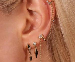 accesories, earrings, and Piercings image