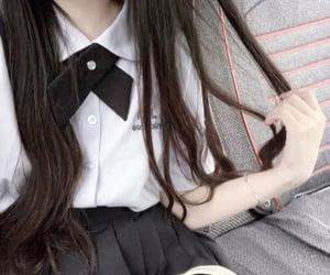 aesthetic, asian, and schoolgirl image