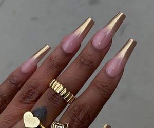 nails, nails inspo black woman, and gel nails image