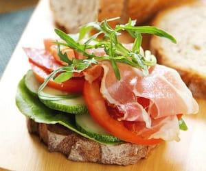 food and ham image