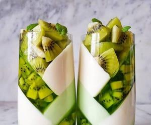 its green, fruit, and kiwi image