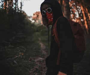 backpack, dystopia, and fugitive image