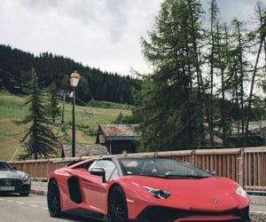 Lamborghini, aesthetic, and red image