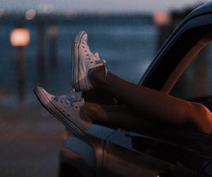 bay, legs, and car window image