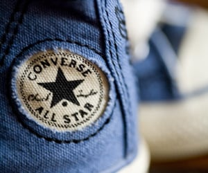 blue, classic, and converse image