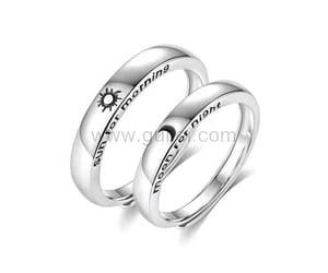 christmas, wedding rings, and christmas gifts image