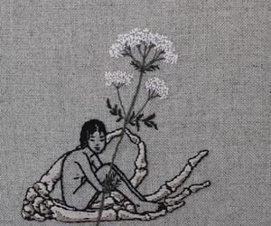 art, australia, and flowers image