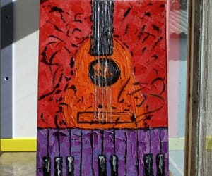 art for sale, new orleans, and oil art image