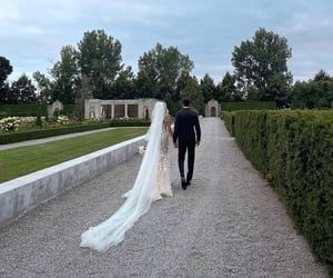 bride, just married, and married image