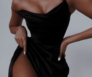 black, body, and confident image