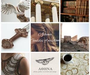athena, goddess, and wisdom image