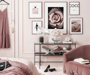 bedroom, coco chanel, and house image