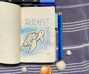 animals, art, and journal image