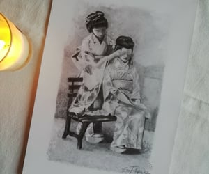 artist, candle, and dance image