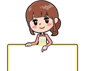 fille, girl, and stickers image