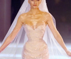 thierry mugler and wedding gown image