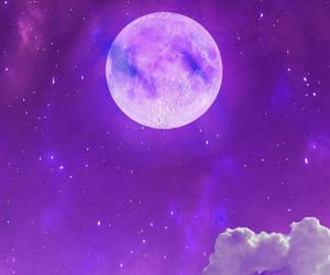 clouds, fantasy art, and stars image