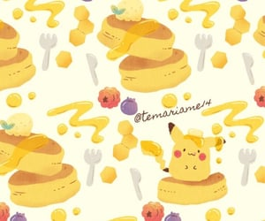 pikachu, background, and kawaii image