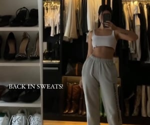 sweatpants and skims image