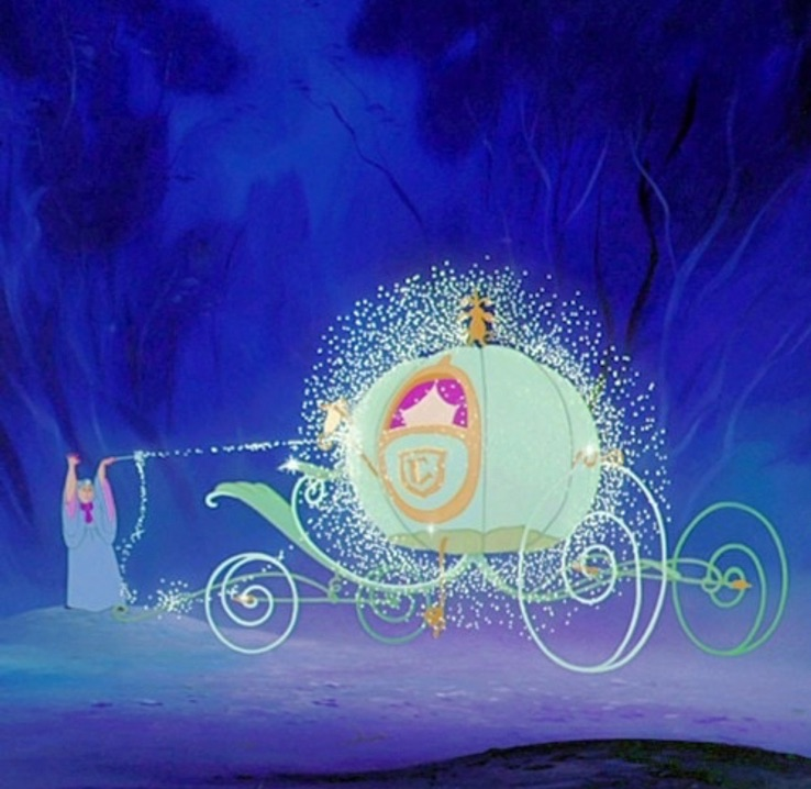 carriage, magic, and princess image