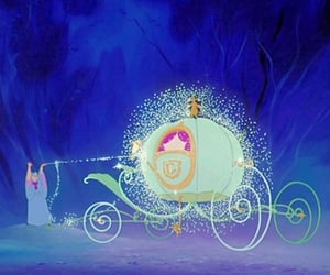 carriage, princess, and royalty image