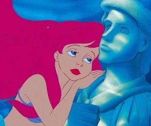 ariel, mermaid, and the little mermaid image