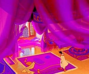 aladdin, arabic, and magic carpet image