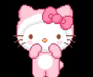 gif, HelloKitty, and kitty image