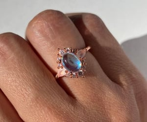 beautiful, jewels, and ring image