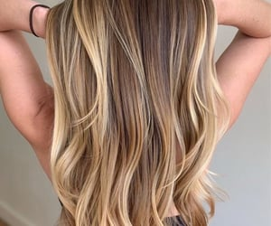 blonde, blonde hair, and dyed hair image