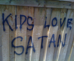 satan, grunge, and kids image