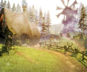 cottage, rpg, and video games image