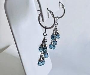 etsy, pierced earrings, and dangle earrings image