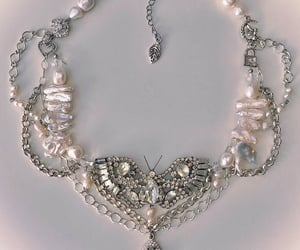 butterfly, jewellery, and necklace image