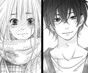 manga, manga couple, and manga girl image
