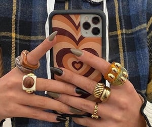aesthetic, fashion, and rings image