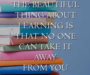 education, motivational quote, and inspirational quote image