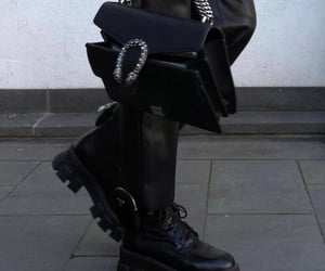 aesthetic, Prada, and boots image