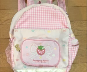 backpack, bags, and cute image