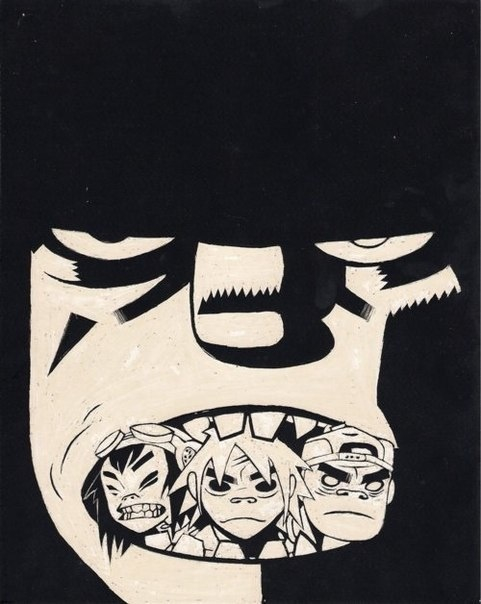 2d, article, and gorillaz image