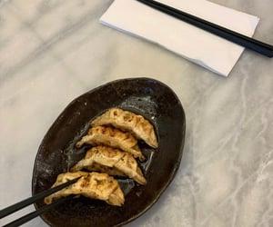 dinner, yummy, and dumplings image
