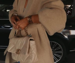 accessories, beige, and chanel image