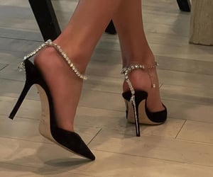 chic, classy, and high heels image