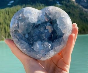 crystal, gem, and ocean image