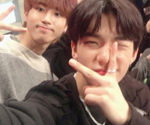 lq, skz, and hyunsung image