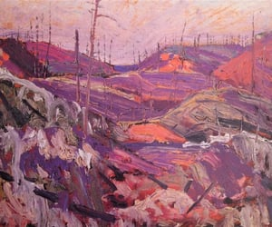 art, paintings, and tomthomson image