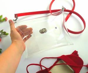 etsy, clear messenger bag, and stadium bag image