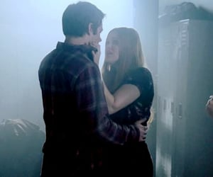 couple, lydia martin, and dylan obrien image